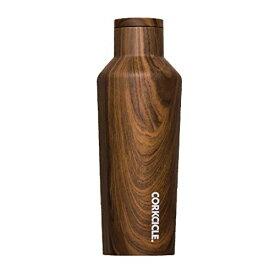SPICE OF LIFE(スパイス) 水筒 ステンレスボトル CANTEEN CORKCICLE ORIGINS ウォールナット 270ml 9oz 保冷 保温 真空断熱 2009PWW