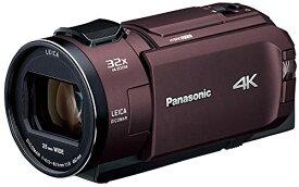 パナソニック 4K ビデオカメラ WX2M 64GB ワイプ撮り 光学24倍ズーム カカオブラウン HC-WX2M-T