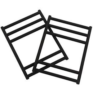 DOD(ディーオーディー) テキーラベンチレッグ 2×4木材を差し込むだけで完成するベンチ脚【2個セット】 CL2-543