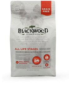 ブラックウッドグレインフリー サーモン 2.27kg(サーモンミール&フィールドピーから商品名変更)