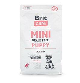 ブリットケアミニグレインフリーパピーラム2kg(ペットフード小粒ドライフード穀物不使用小型犬用)