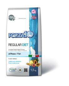 フォルツァディエチ(FORZA10) 療法食 猫用ドライ 超低アレルギー レギュラーダイエットフィッシュ 1.5Kg