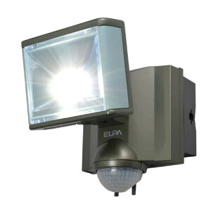ELPA 屋外用センサーライト AC電源 8wLED 1灯 ESL-801AC