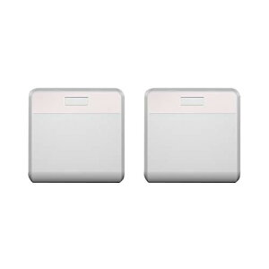 ムサシ RITEX どこでもセンサーライト ワイヤレス(2個入り) W-500