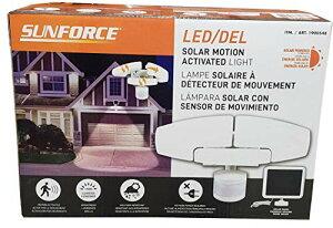 SUNFORCE Products サンフォース ソーラー 人感 LED センサーライト 1900548