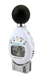 デザインファクトリー 計測機器 黒球付熱中症計 熱中症指標/WBGT/温度/湿度表示 CR2032電池使用 115158