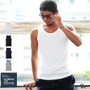 【さらに全品20%OFFクーポン★本日20時〜】タンクトップ メンズ タンク メンズ ノースリーブ テレコ素材 メンズ 男性…
