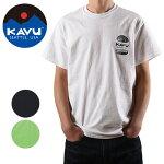 KAVU/カブーメンズハンバーガーTシャツ19821065【Tシャツ/半袖/セット/アウトドア】【メール便・代引不可】
