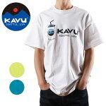 KAVU/カブーメンズシェイクTシャツ19821066【Tシャツ/半袖/セット/アウトドア】【メール便・代引不可】