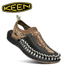 KEEN キーン UNEEK EVO ユニークエヴォ PETRIFIED OAK/RAVEN 1021490 【サンダル/レディース/シティ/トラベル/アウトドアシューズ/カジュアルシューズ】