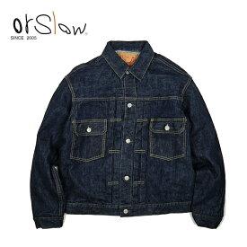 Orslow オアスロウ 50'S DENIM JACKET ONE WASH デニム ジャケット ワンウォッシュ 01-6002-81 【Gジャン/ジーンズ/ファッション/アウター/おしゃれ】