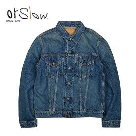 Orslow オアスロウ MENS 60'S DENIM JACKET REAL USED メンズ デニムジャケット リアルユーズド 01-6005-83 【Gジャン/ジーンズ/ファッション/アウター/おしゃれ】