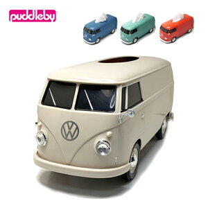 puddleby パドルビー フォルクスワーゲンバス ティッシュボックス プラス WT-91401PT 【ティッシュケース/カバー/雑貨/インテリア】