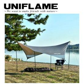 UNIFLAME ユニフレーム REVOタープ solo TAN 682050 【キャンプ/アウトドア/日よけ】