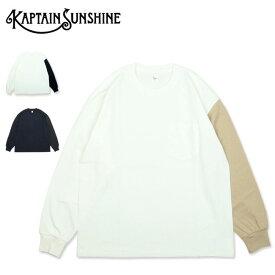 【エントリーでP10倍 1/16 1:59まで】KAPTAIN SUNSHINE キャプテンサンシャイン West Coast Long Sleeved Tee ウエスト コースト ロング スリーブ ティー KS20FCS13 【トップス/長袖/ロンT/アウトドア】