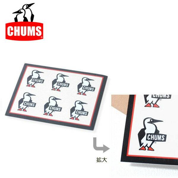 【ステッカー3000円以上購入で送料無料】チャムス chums Sticker Boody Bird Mini ステッカーミニブービーバード 正規品 ch62-0009