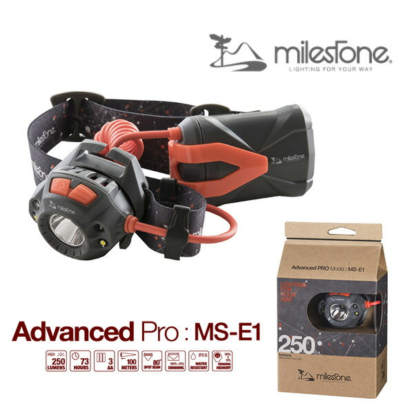 ms-e1 milestone マイルストーン ヘッドランプ/Advanced Pro/MS-E1