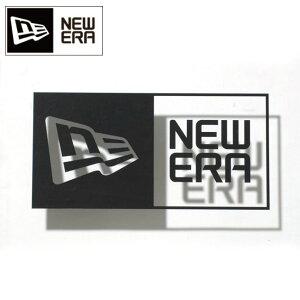 NEWERA ニューエラ ステッカー NEW ERAステッカー Die-cut Box Logo ブラック 11099458【メール便発送350円・代引不可】