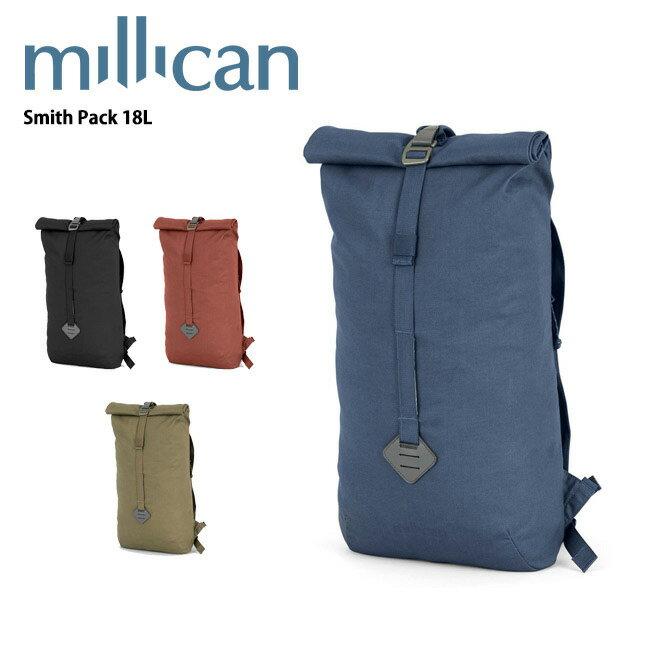 ミリカン millican Smith Pack 18L M010 【カバン】 バックパック ロールトップ