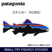 パタゴニアPatagoniaSmallFryFishroySticker91902【雑貨】ステッカーシール日本正規品