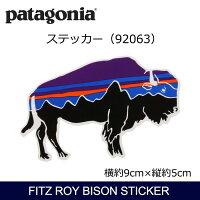 パタゴニアPatagoniaFitzRoyBisonSticker92063【雑貨】ステッカーシール日本正規品