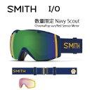 2017 スミス SMITH OPTICS ゴーグル I/O 数量限定 Navy Scout Navy Scout ChromaPop sun/Red Sens...