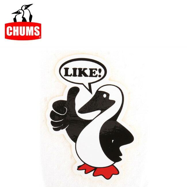 【ステッカー3000円以上購入で送料無料】チャムス chums ステッカー Booby LIKE! Sticker 【雑貨】正規品 CH62-1117