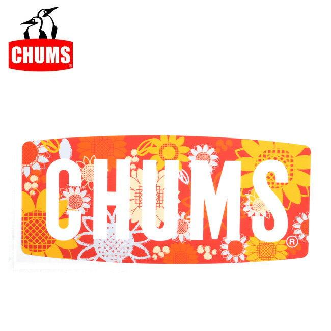 【ステッカー3000円以上購入で送料無料】チャムス chums ステッカー Flower Logo Sticker 【雑貨】正規品 CH62-1118