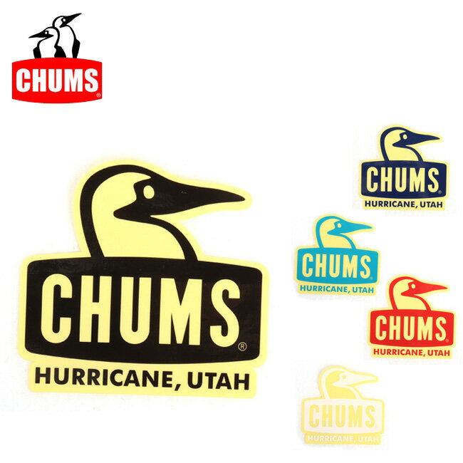 【ステッカー3000円以上購入で送料無料】チャムス chums ステッカー Sticker Booby Face 【雑貨】正規品 CH62-1124