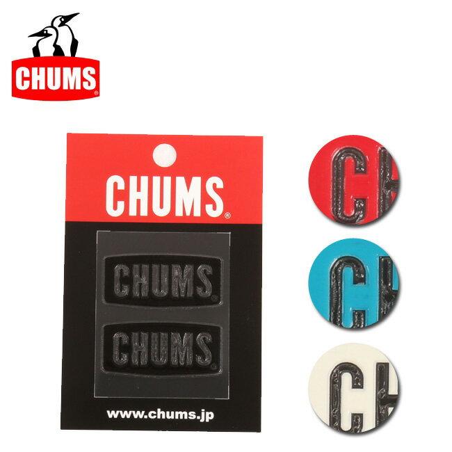 【ステッカー3000円以上購入で送料無料】チャムス chums ステッカー Logo Emboss Sticker 【雑貨】正規品 CH62-1125