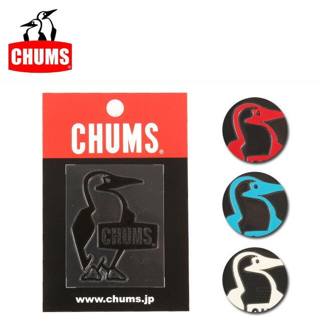 【ステッカー3000円以上購入で送料無料】チャムス chums ステッカー Booby Bird Emboss Sticker 【雑貨】正規品 CH62-1126