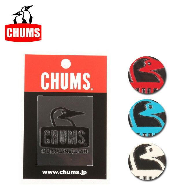 【ステッカー3000円以上購入で送料無料】チャムス chums ステッカー Booby Face Emboss Sticker 【雑貨】正規品 CH62-1127