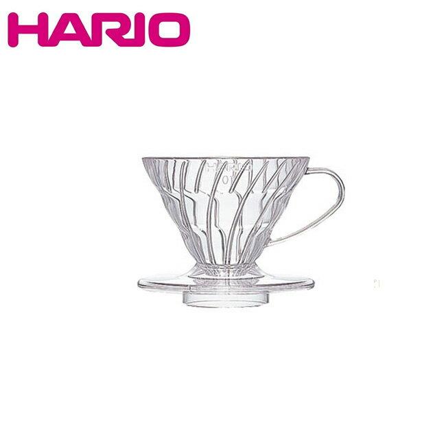 【ショップ限定スマホエントリーでP10倍 12/9 10:00〜】HARIO ハリオ V60透過ドリッパー01クリア クリア VD-01T 【雑貨】 ドリッパー