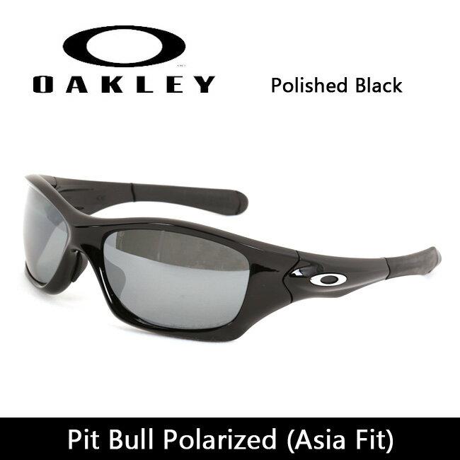 OAKLEY/オークリー サングラス Pit Bull Polarized ピットブル (Asia Fit) Polished Black oo9161-06 【雑貨】【サングラス】日本正規品 スポーツ マリン アウトドア キャンプ 偏光レンズ