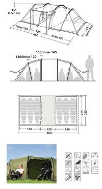ROBENSローベンストレイルシリーズGreenCastleグリーンキャッスルROB130153【TENTARP】【TENT】テントトンネル