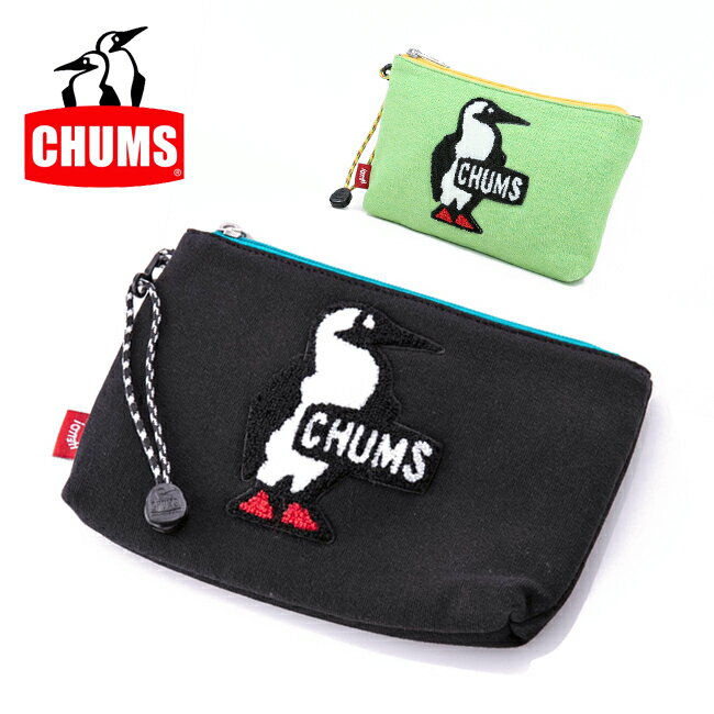 チャムス chums ポーチ Medium Pouch Sweat ミディアムポーチスウェット CH60-2410 【雑貨】バッグインバッグ 小物入れ【メール便・代引不可】