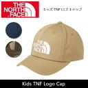 【今だけ!スマホエントリ限定で+P10倍】ノースフェイス THE NORTH FACE キャップ キッズ TNF ロゴ キャップ Kids TNF…