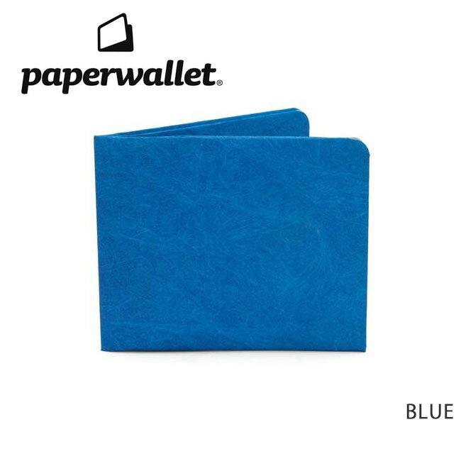【メール便発送・代引き不可】PaperWallet ペーパーウォレット ウォレット Solid Wallet (Slim Wallet)/BLUE SOL008BLU 【雑貨】財布 タイベック素材 紙の財布