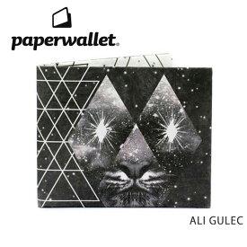 【月間優良ショップ受賞】PaperWallet ペーパーウォレット ウォレット Artist Wallet (Slim Wallet)/ALI GULEC ART054AST 【雑貨】財布 タイベック素材 紙の財布【メール便・代引不可】