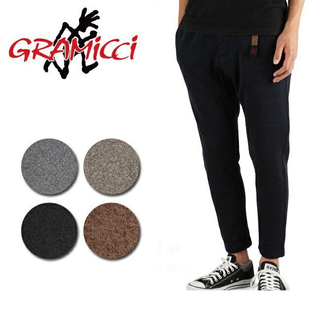 グラミチ GRAMICCI ロングパンツ FLEECE SLIM PANTS フリース スリムパンツ GMP-17F006 【服】裏起毛 あったか 9分丈