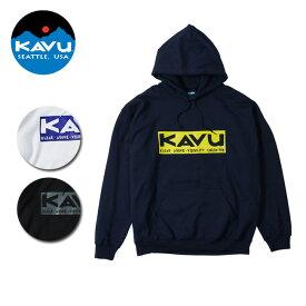 KAVU/カブー パーカー スクエアロゴパーカー 19820729 【服】メンズ
