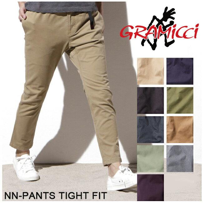 グラミチ GRAMICCI パンツ NN-PANTS TIGHT FIT NNパンツタイトフィット 8818-FDJ 【服】 ストレッチパンツ スポーティ ロングパンツ