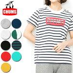チャムスchumsTシャツCHUMSLogoT-ShirtWomen'sチャムスロゴTシャツCH11-1324レディース正規品【服】【t-cnr】【メール便発送・代引き不可】