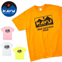 KAVU/カブーTシャツTrueLogo2CTeeトゥルーロゴ2カラーティー19820843【服】【t-cnr】メンズ【メール便・代引不可】