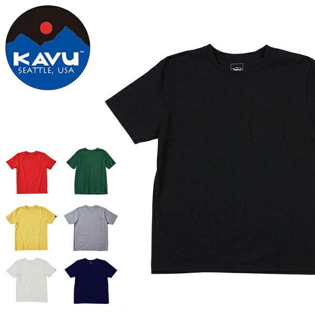 カブー / KAVU カブー メンズ ポケットT 19820416 【半袖/Tシャツ/カラー/シンプル】【メール便・代引不可】