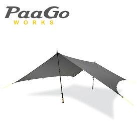 【楽天カード使用でP7倍 11/19 20時から】PaaGo WORKS パーゴワークス タープ ニンジャタープ NJ-01-DG/CT801DGR 【TENTARP】【TARP】日よけ アウトドア イベント キャンプ