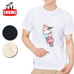 チャムスchumsDoubleIceCreamT-ShirtダブルアイスクリームTシャツch01-1466【トップスメンズ/Tシャツ/半袖/アウトドア】【メール便・代引不可】