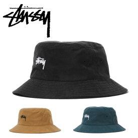 STUSSY ステューシー Stock Bucket Hat 132885  アウトドア 日除け  18秋冬    d21dad930e63