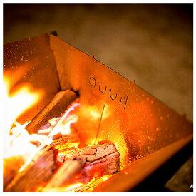 【エントリーでP10倍 8月9日1:59まで】auvil オーヴィル エッジ パーティー ストーブ+網セット(焚火台) 【ストーブ/アウトドア/キャンプ】