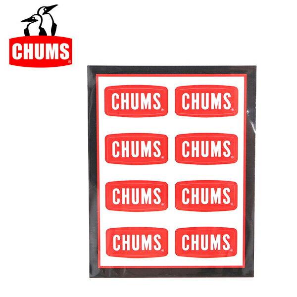 【ステッカー3000円以上購入で送料無料】チャムス chums Sticker CHUMS Logo Mini ステッカーチャムスロゴミニ 正規品 ch62-0089